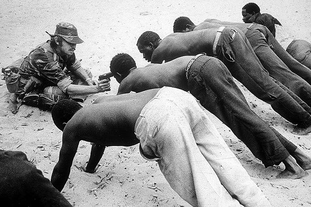 9 ужасающих фотографий прямиком из горького сердца войны