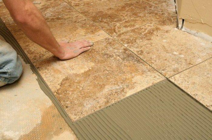 Правила укладки керамической плитки