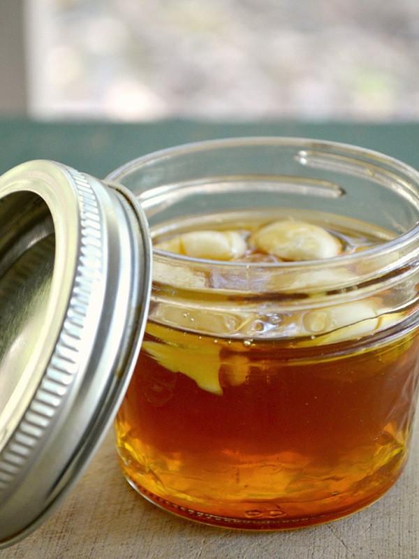 медово чесночный сироп