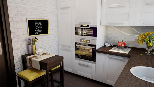 Дизайн угловой кухни – советы по выбору на 90 фото
