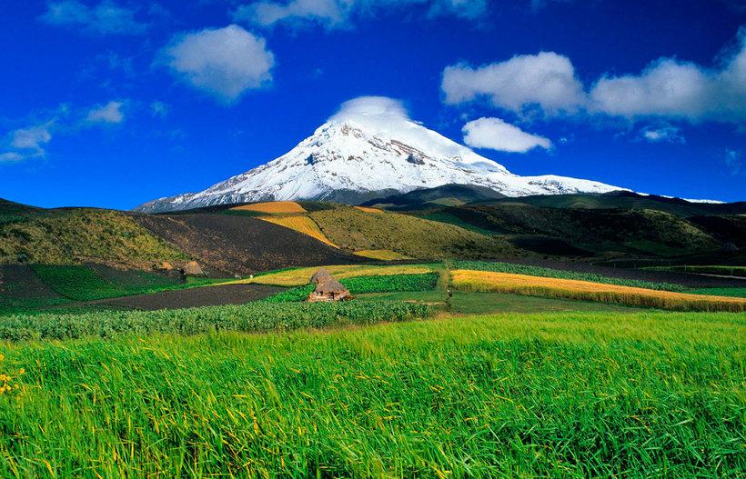 Вулкан Чимборасо — самая высокая точка Земли, если считать от центра планеты