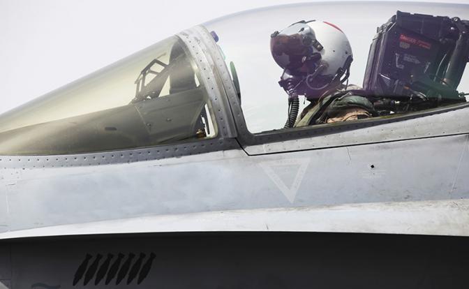 Летчик F-22 Дэйв Скалички: Перехватывать русских — это очень опасно