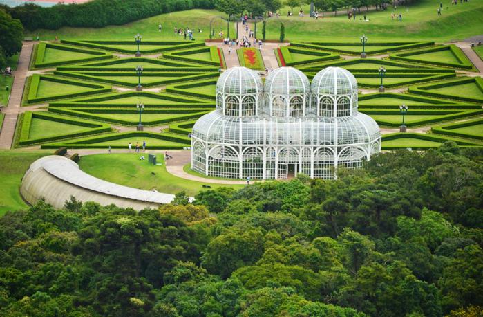 Мир вокруг. 11 садов мира с высоты птичьего полета