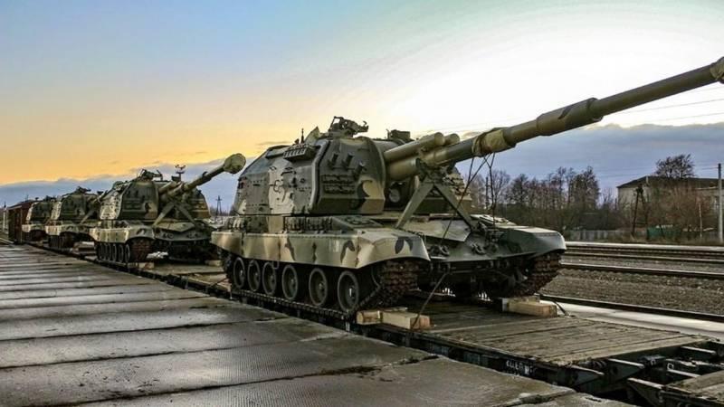 Развёртываемые близ Донбасского ТВД подразделения РВиА и С-300ПМ1 ВКС России смешали карты в Вашингтоне и Киеве