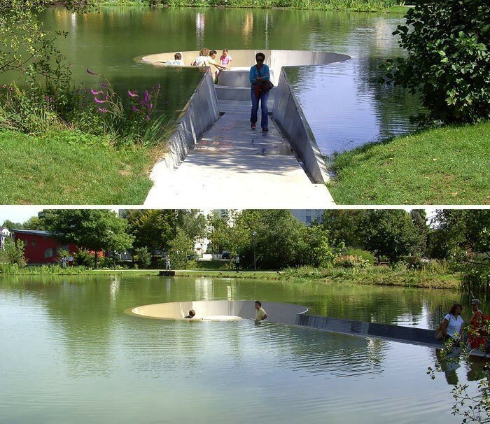 Парк в Воклабруке, Австрия в мире, в парке, красота, креатив, лавочка, скамейка, удобство, фантазия