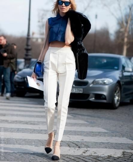 Уличный стиль — 6 весенних образов с правильными брюками
