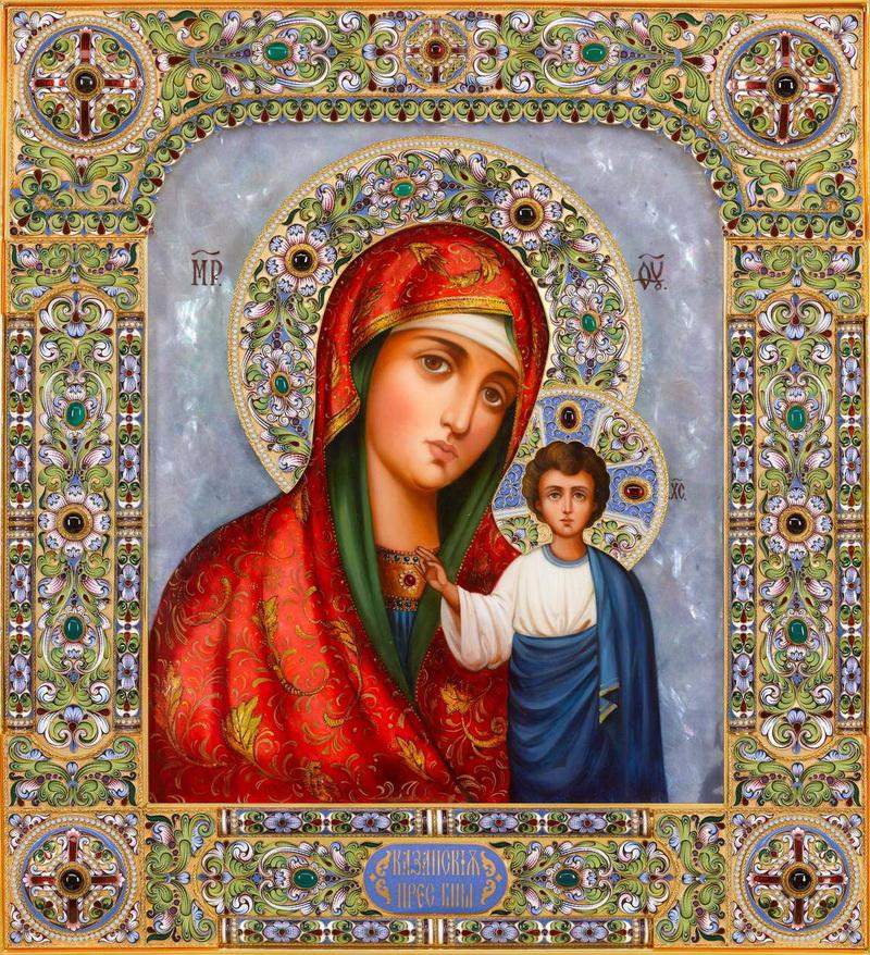 У каждого есть свой ангел-хранитель и своя икона-заступница.