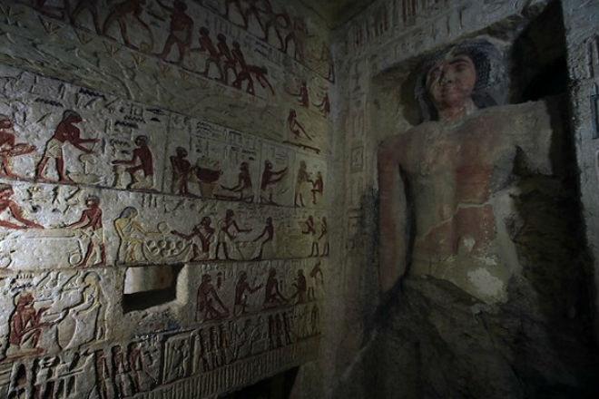 Гробница которой 4000 лет: в Египте нашли склеп древнего жреца