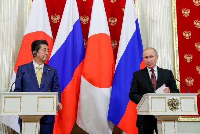Как Путин поставил Абэ на место! Или зачем раскурили Курилы ...