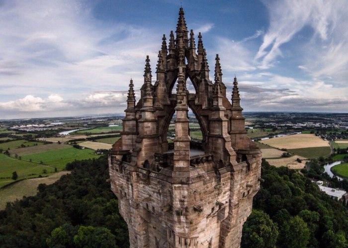 Башня Уоллеса – одна из главных достопримечательностей Шотландии