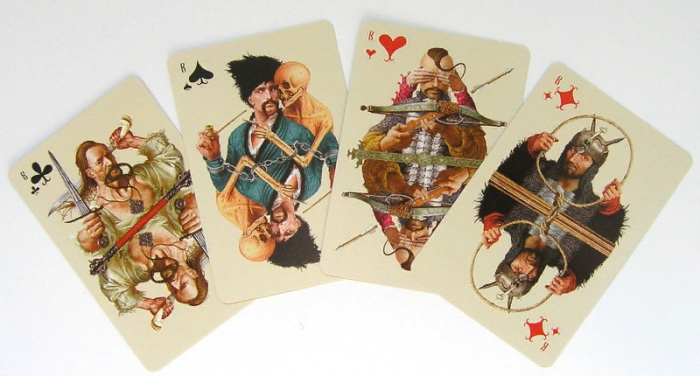 Игральные карты от знаменитого художника-иллюстратора Владислава Ерко