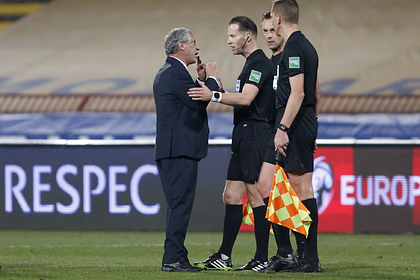 Судья извинился за незасчитанный гол Роналду в матче квалификации ЧМ Спорт
