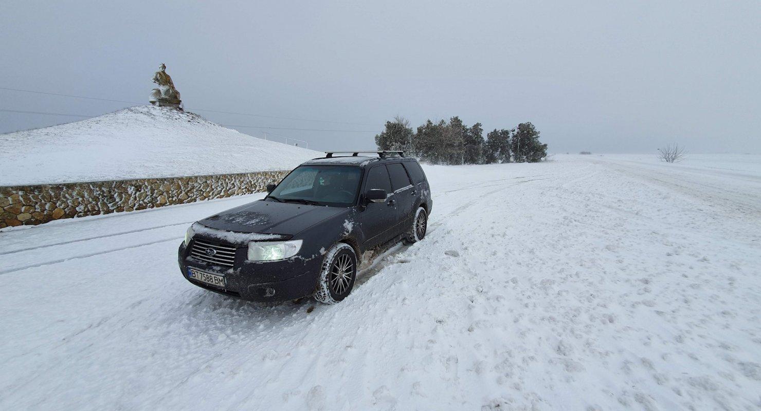 Японский полноприводный кроссовер Subaru Forester Автомобили