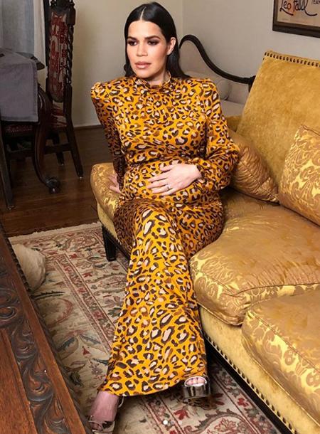 Америка Феррера родила дочь и попросила сделать ей особенный подарок yeswecanmobileschools,Дети,Дети знаменитостей