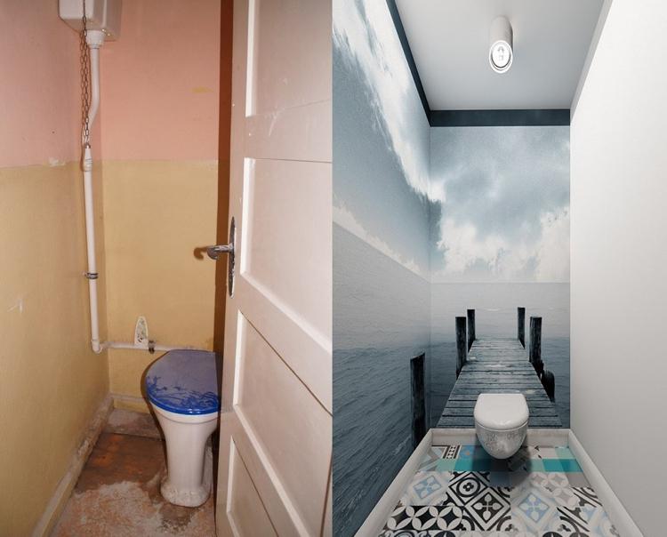 Идея ремонта туалета: фото «…