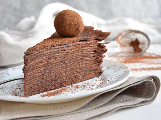 Рецепты вкусных и несложных блинных тортов
