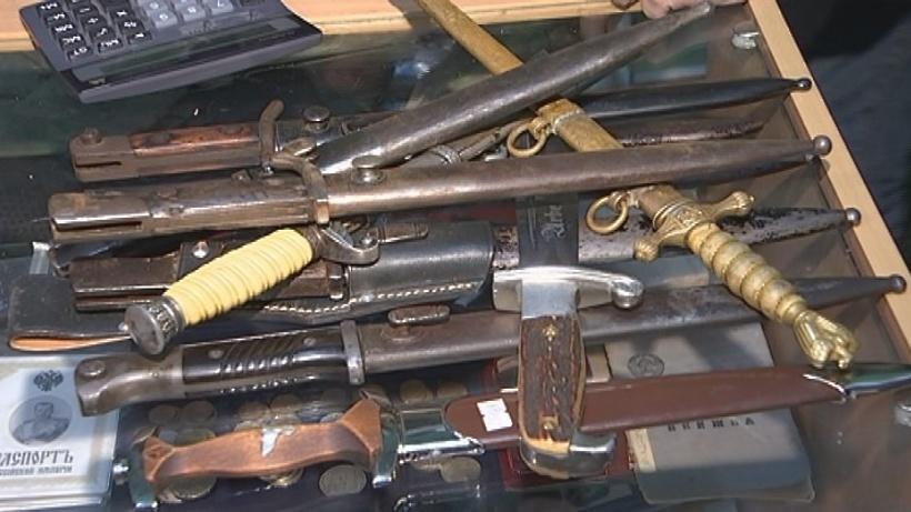 В Рузском округе у «черного копателя» обнаружили арсенал оружия