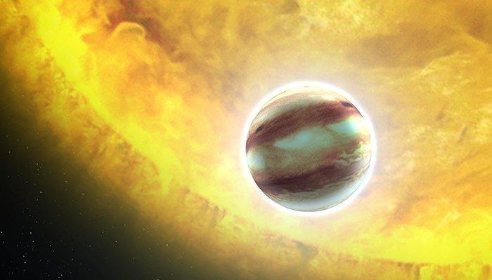 6. HAT-P-7 b - дожди из рубинов и сапфиров  вселенная, интересное, космос, подборка, экзопланета