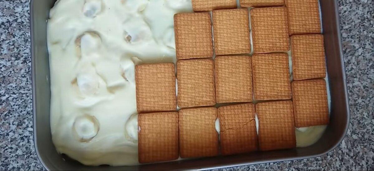 Верхний слой торта