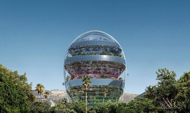 В Голливуде вырастет «зеленая офисная башня»