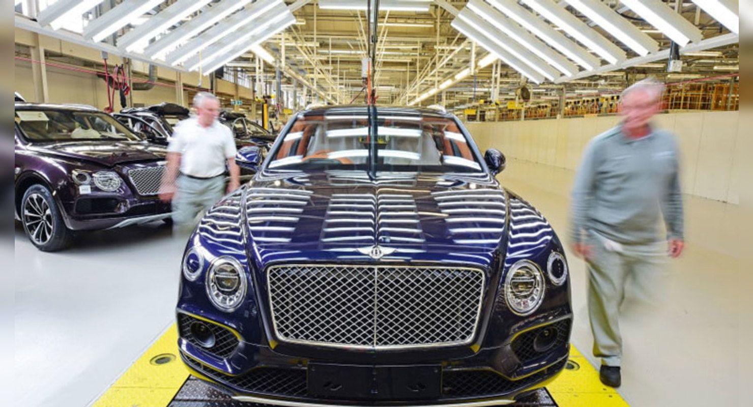 Компания Bentley продала рекордное количество авто в 2020 году Автомобили