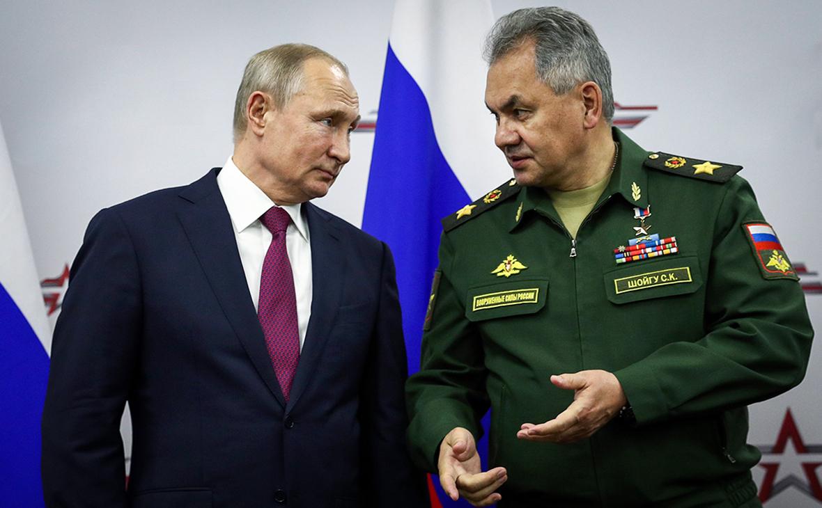 Шойгу заявил, что наибольшая угроза для безопасности РФ находится на западном направлении