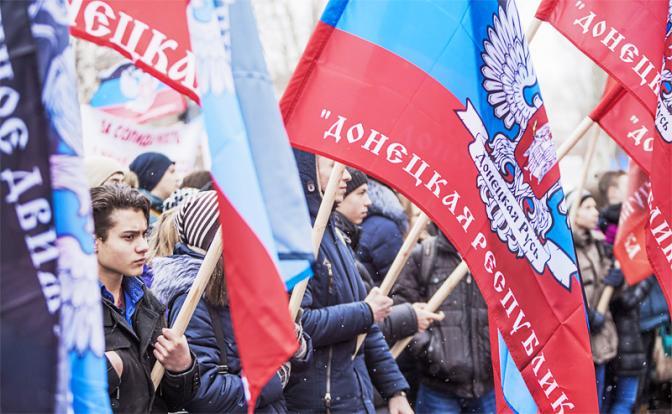 Москве предложили официально признать республики Донбасса