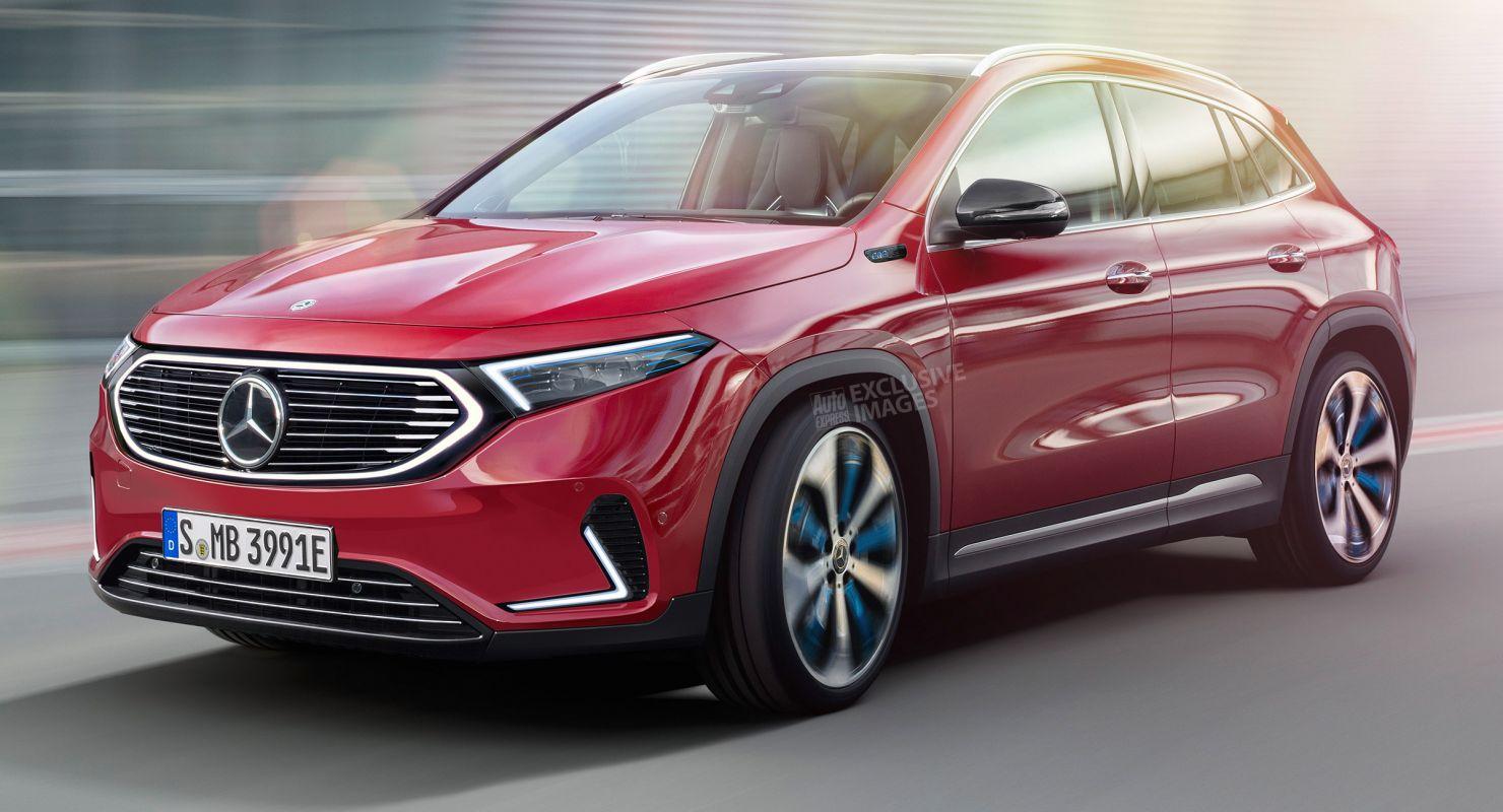 Mercedes выпустил в продажу электрокар EQA Автомобили
