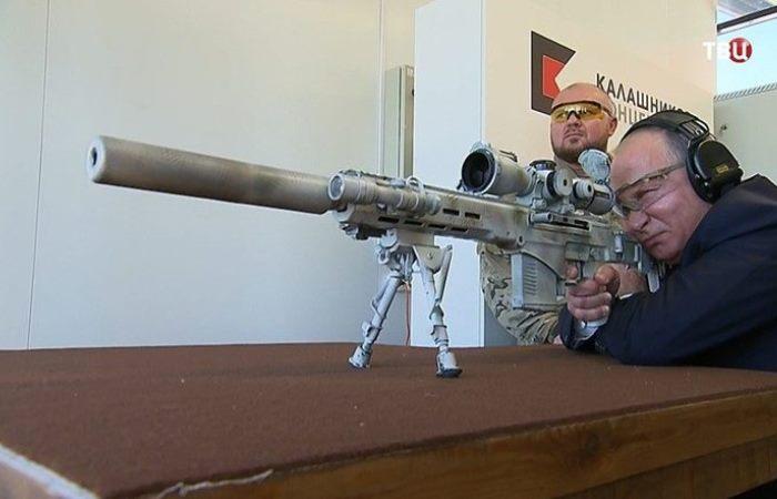 Снайперская винтовка Чукавина: будущее стрелкового оружия России