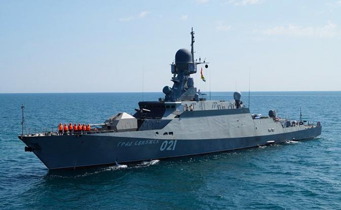 Астраханские «Буяны» против авианосца «Гарри Трумэна»