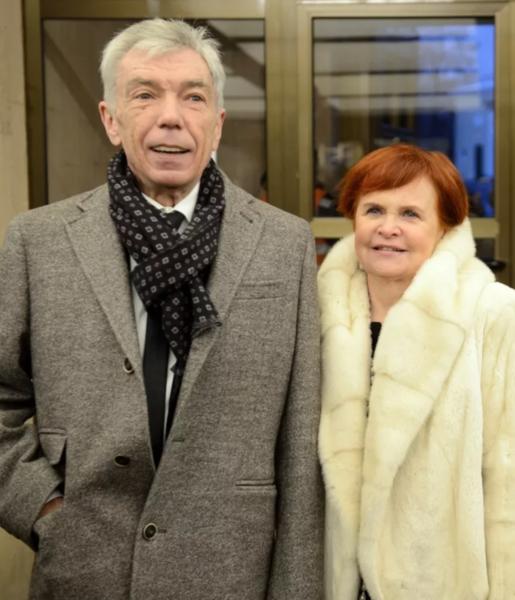 Юрий Николаев с супругой Элеонорой