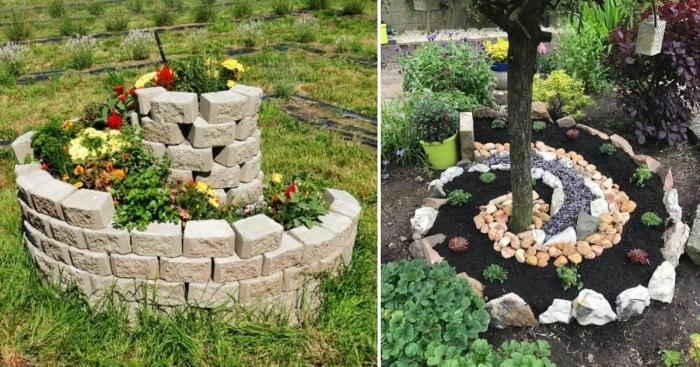 Спиральный сад для дачи: оригинальное оформление и красивое украшение