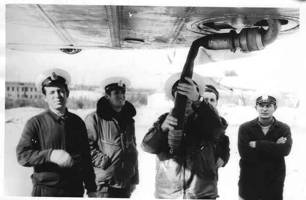 Крыльевая дозаправка Ту-16 (как процесс )