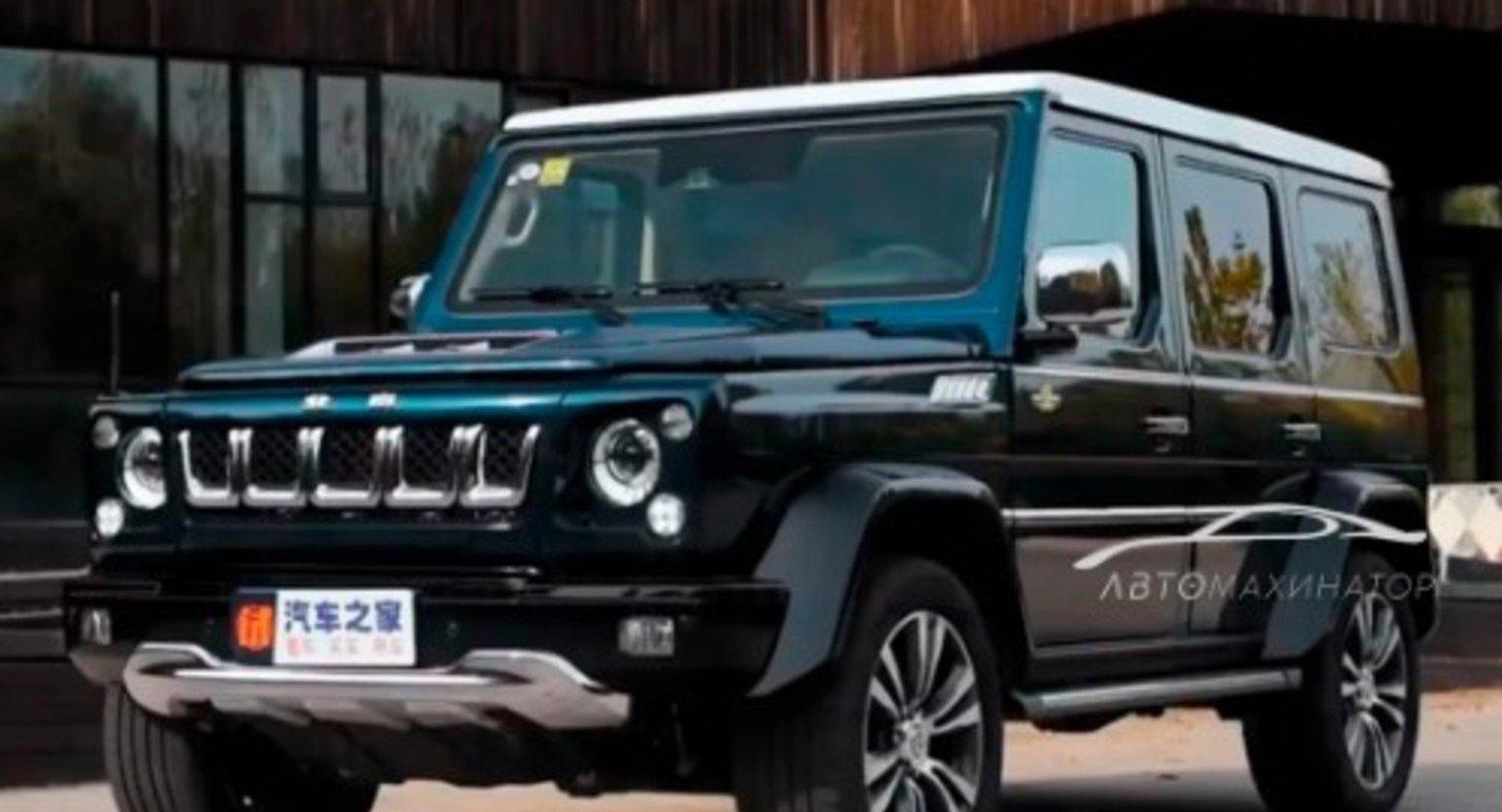 BAIC BJ80: «Китайский Гелик», который стоит в 5 раз дешевле, чем Mercedes Gelandewagen Автомобили