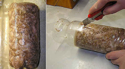 «Куриный рулет в бутылке»... Кажется просто, но это лучше ресторанного блюда!