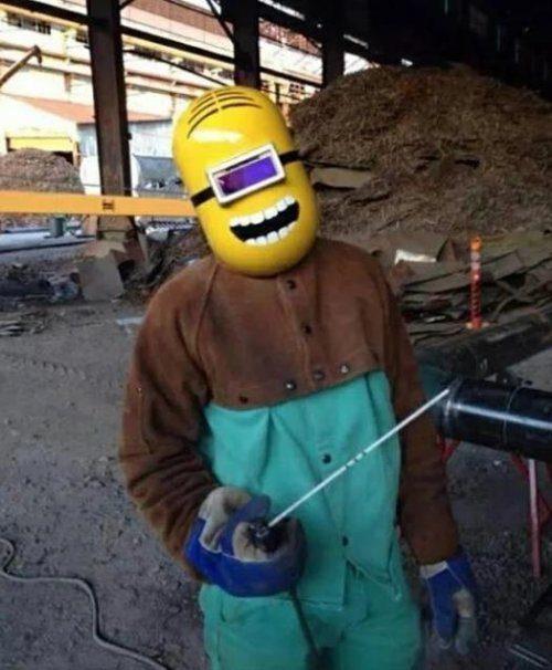 Забавные сварочные маски