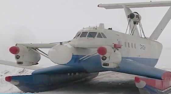 Испытания экраноплана «Орион-20» прошли в Карелии в экстремальных условиях