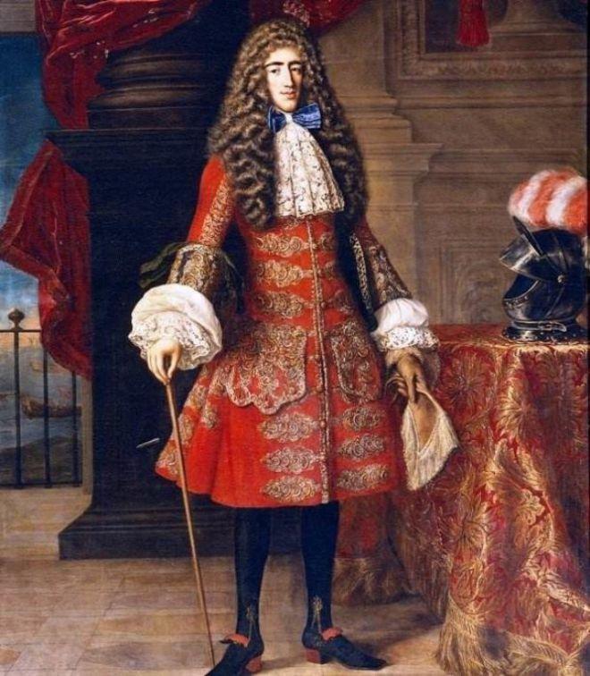 Картина Мужчина в парике