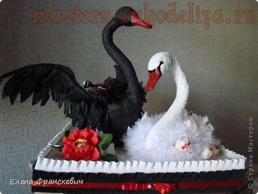 Лебеди Black and White. МК по свит-дизайну