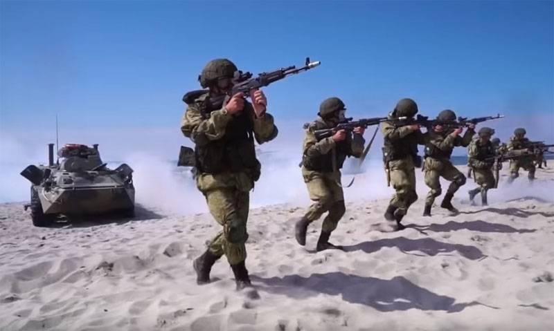День морской пехоты РФ. Где мы, там победа