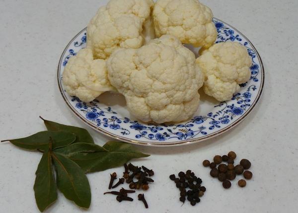Маринованная цветная капуста: рецепты на любой вкус