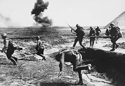 Подборка из 35 знаменитых снимков Великой Отечественной Войны