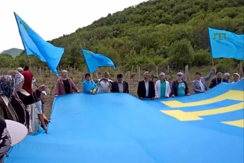 Крымские татары потребовали извинений от Украины за «еврейское фото»