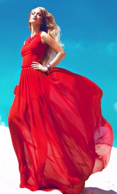"""""""Леди в красном"""" — ода красному платью"""