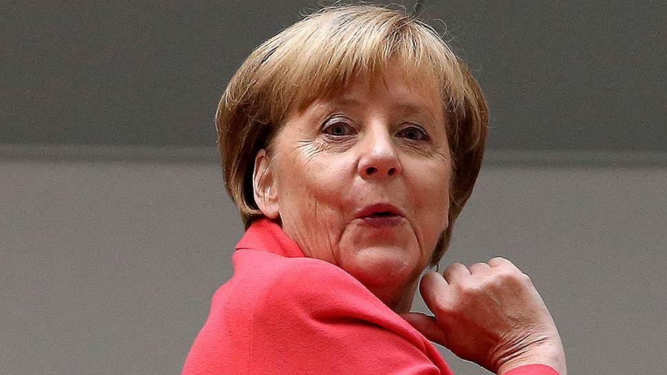 Немецкие мазохисты выбрали Меркель