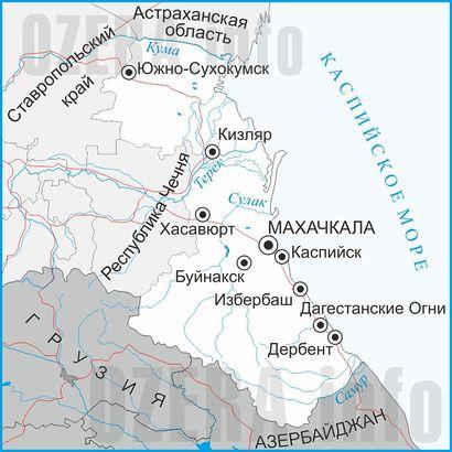 Рыбалка в Дагестане