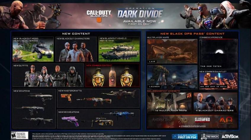 «Тёмный раскол»: cупергеройская операция Call of Duty: Black Ops4 стартует сегодня — детали нового сезона call of duty: black ops4,pc,ps,xbox,Игры,Стрелялки