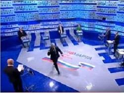 «Это базар»: Грудинин прервал участие в теледебатах и ушел из студии