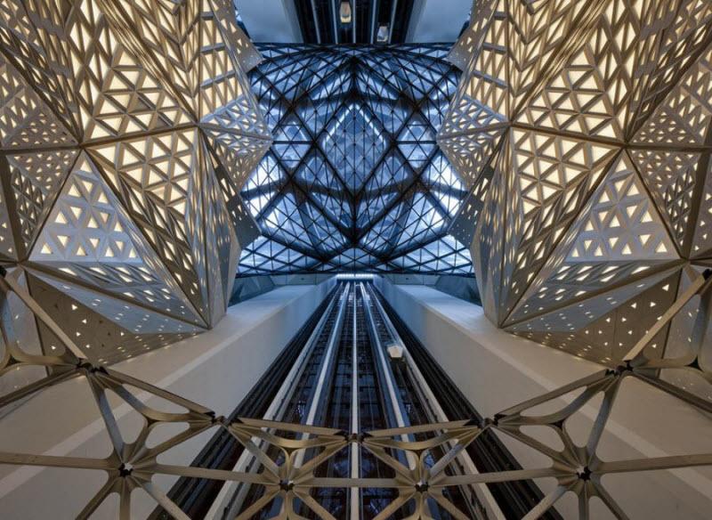 В Китае открылся удивительный футуристический отель