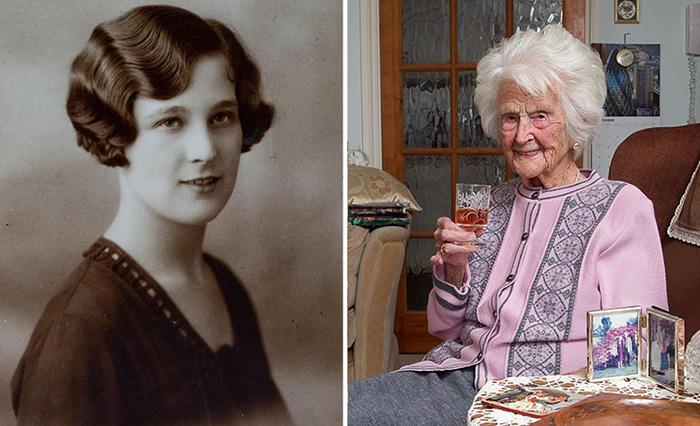 112-летняя британка раскрыла журналистам секрет своего долголетия
